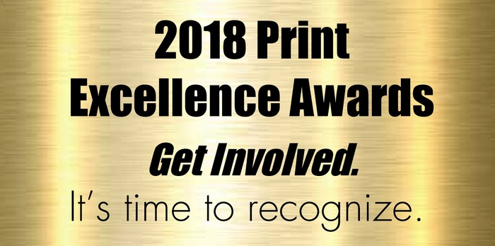 2018 Print Excellence Awards